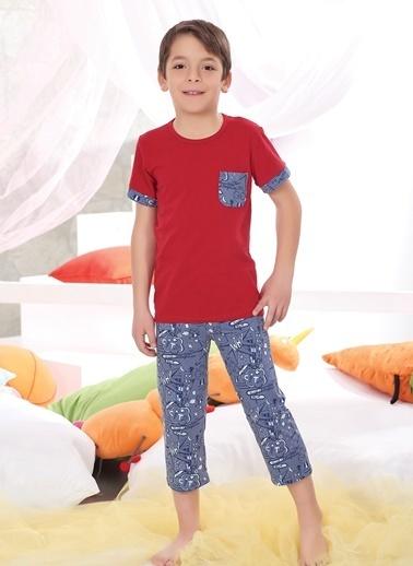 Zeyzey Pijama Takım Kırmızı